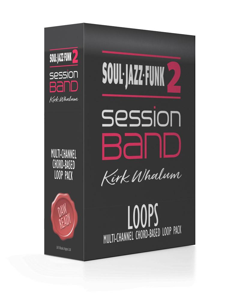 SessionBand Soul Jazz Funk Music Loops - Kirk Whalum Saxophone Loops
