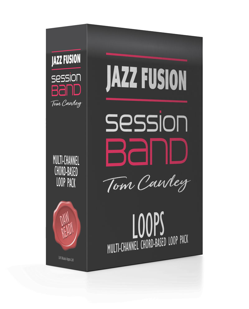 SessionBand Jazz Fusion Music Loops - Tom Cawley EP Electric Piano & Synth Loops