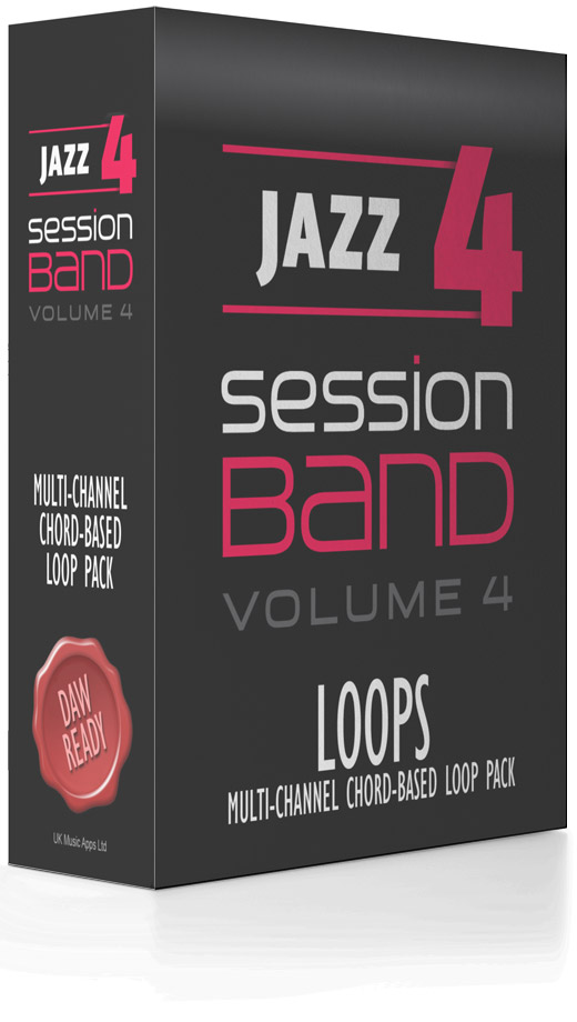 SessionBand Jazz Music Loops - Volume 4 with Jason Rebello