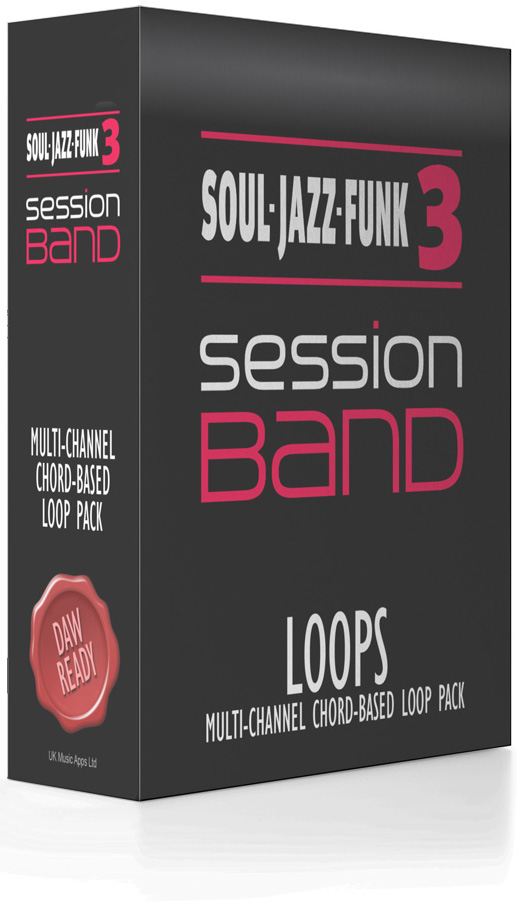 SessionBand Soul Jazz Funk Music Loops 3 con Jason Rebello